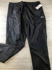 NEW ASICS Waterproof Pants Big & Tall BT 4XL XXXXL Black NEW NWT RAIN RUN HIKE