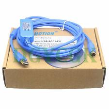 USB-SC09-FX Cable  FX1N/2N/1S/3U FX Series PLC UL2464 ROHS gold-plated EMI LED