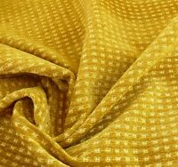"LEE JOFA GLENHURST CHENILLE ""GILT"" GOLD DOTTED FRANCE  MSRP$276/Y Per Yard"
