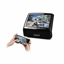 9 Zoll Auto Kopfstütze DVD Player HDMI Leather Kunstleder Touch-Button Tragbar