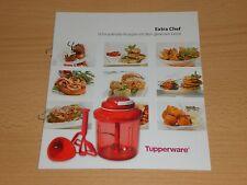 Tupper Tupperware Rezeptheft Kochbuch Rezepte Rarität Turbo Multi Extra Chef