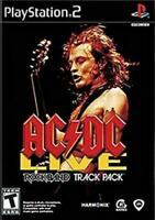 Rockband AC/DC Live Track Pack PS2 Playstation 2 Game New