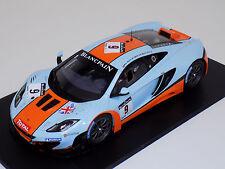 1/18 True Scale TSM McLaren MP4-12C GT3 #9 Gulf 24 Hours Spa 2012 TSM131814R