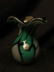 5926:Design Glas, Vase, Glasbläserei Malente, Holsteinische Schweiz.