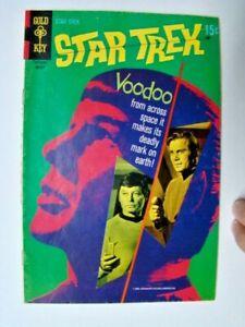 1970 Star Trek #7 Spock Voodoo Cover TV Show Gold Key Comics VG
