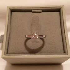 Platinum Diamond Nice Solitaire Ring - Size J