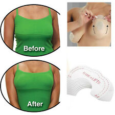 10PCS Useful Silicone Instant Invisible Tape Breast Lift Bra Push Up Chest Paste