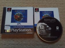 POPULOUS : THE BEGINNING  - Rare Sony PS1 Game