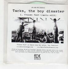 (GO704) Tacks, The Boy Disaster - Frozen Feet - 2007 DJ CD