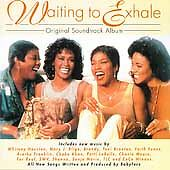 WAITING TO EXHALE - Original Soundtrack CD BUY 4+ $1.99 EACH & FREE SHIPPING