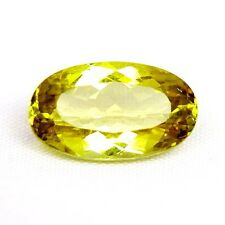 TOP APATITE : 6,14 Ct Natürlicher Gelb Grün Apatit aus Tansania