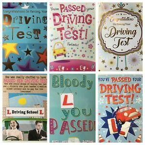 Driving Test card (*) PASSED DRIVING TEST CONGRATULATIONS