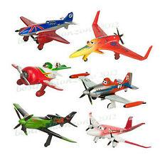 Plane - 6 pcs/lot Planes Racers PVC Figures Playset TV Movie Toys Loose Pack New