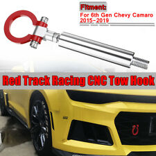 Track Racing CNC Aluminum Tow Hook For 2016-2019 6th Gen Chevy Sports Camaro