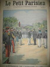 DEGRADATION ULLMO PARDON DES OISEAUX EN BRETAGNE JOURNAL LE PETIT PARISIEN 1908