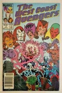 West Coast Avengers #2, Marvel Comics 1985
