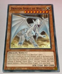 LDS2-EN009 - Dragon Spirit of White 1st Edition YuGiOh NEW