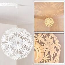 Lampe à suspension Plafonnier Lampe pendante blanche Lustre Éclairage de salon