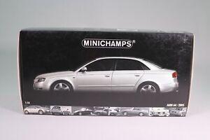 LE994 MINICHAMPS 100014402 Voiture 1/18 1:18 Audi A4 2005 silver EDL