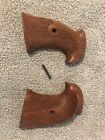 Vintage Nice Handmade Colt E-i Frame Target Grips Python John Hurst Lapd Look