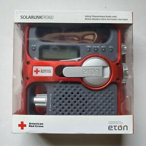 ORIGINAL 2008 - Eton Solarlink ARCFR 360 Emergency AAA Solar Windup Radio Sealed