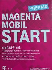 T-Mobile Prepaid Simkarte - Magenta Start S - 0170-2076241