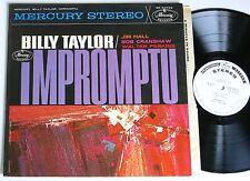BILLY TAYLOR / JIM HALL / BOB CRANSHAW IMPROMPTU ORIG US MERCURY DG LP 1962 VG++