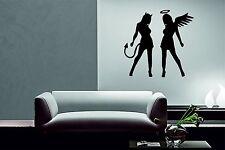 Deko-Wandtattoos & -Wandbilder mit Silhoutten fürs Schlafzimmer