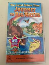 VHS: THE LAND BEFORE TIME IX - JOURNEY TO BIG WATER