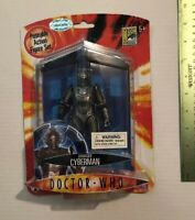 2007 Exclusive San Diego Comic Con Doctor Who Damaged Cyberman Figure  Free Ship