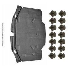 OEm Heat Shield Hood Insulation Pad +14 Push Clip kit Mercedes sL320 sL500 sL600