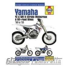 Haynes Service Manual 2689 YAMAHA YZ & WR 4-stroke MOTOCROSS BIKES + stickers