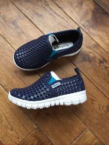 Holees Memory Foam Kids Slip On Beach,Walks Shoes Size UK 6,New With Box
