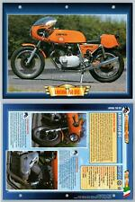 Laverda 750 SFC - 1975 - Classic Motorbikes - Atlas Motorbike Fact File Card