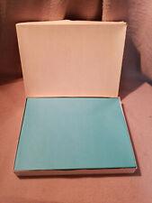 50 Unused Large Blue Envelopes, Paper Packets