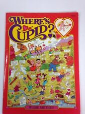 Where's Cupid Valentines Day Children's Book by Tony Tallarico  Paperback