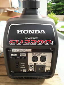 Honda Eu2200i 2200W Gas Powered Portable Inverter Generator