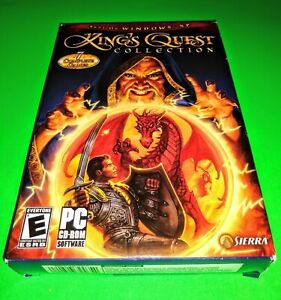 King's Quest Collection PC CD-ROM Game Small Box 1984-1994 Windows Sierra