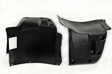 BMW E39 M5 L+R  PP plastic FRONT form M BUMPER SPLASH PANEL pork chops 2pc