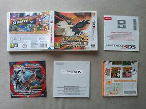 POKEMON ULTRA SOLE, NINTENDO 3DS, PAL, EUROPEO, NO CARTUCCIA