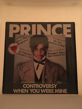 "Prince - Controversy 12"" Promo Single LP (UK Import) (K17866T)"