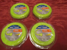 4 Shakespeare Ugly Twist .095-in Universal Trimmer Line Refill 125' Spool Cutter