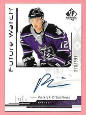 06/07 SP Authentic #183 Patrick O'Sullivan On Card Autograph RC #270/999