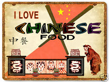 Chinese food Metal sign great gift / Asian food restaurant vintage style art 327