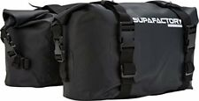 Supafactory 20l Impervius Waterproof Saddle Bags for Motorcycles & Motorbikes
