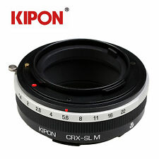 Kipon Adapter with Helicoid Macro Tube for Contarex Lens to Leica SL Camera