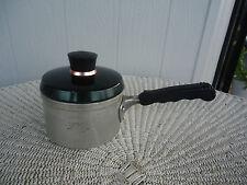 vintage retro anodised aluminium jason jaslec saucepan matches canisters