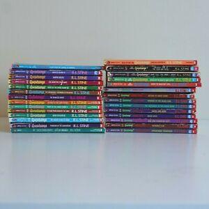 Goosebumps Books - Bulk lot 28 R.L Stine RARES & UNCOMMON'S INCLUDED