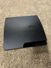 Sony PlayStation 3 PS3 Black Slim System 320GB CECH-3001B Console Only Tested