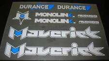 Maverick Durance decal set